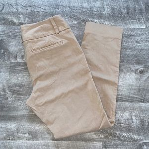 The Limited Tan Cropped Pants 6